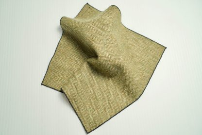 Donegal Tweed Pocket Square Apple Oatmeal
