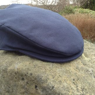 Irish Linen Cap Navy