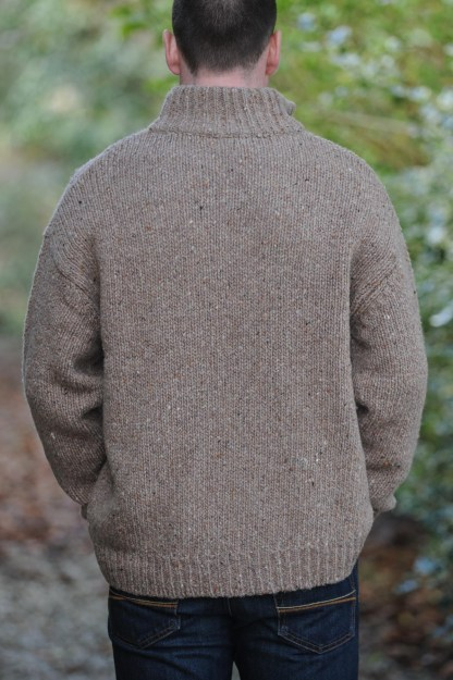 Achill Island Sweater Oatmeal Detail 14 1134