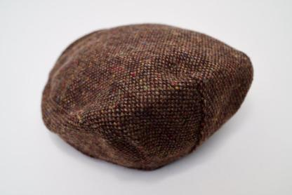 Brad Pitt Style Tweed Cap Muddy Water