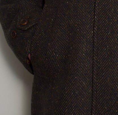 CONNEMARA Tweed Overcoat Bracken