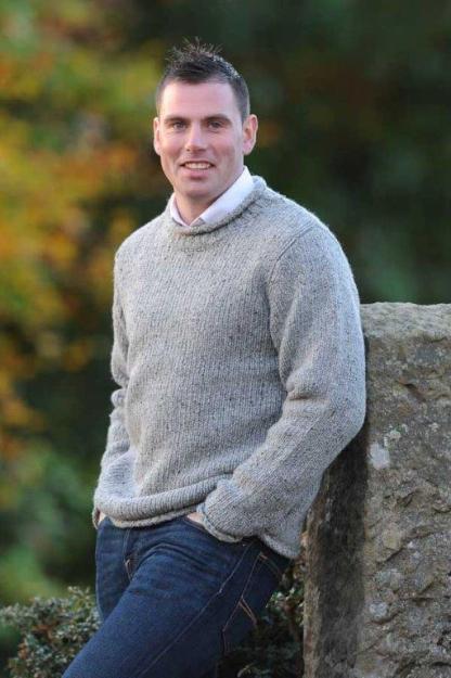 Carrick Aran Sweater Granite