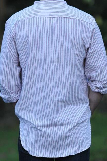 Grandfather Shirt Cranberry 1569