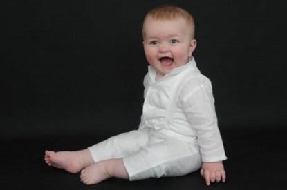 Irish Linen Grandad Shirt Pullups