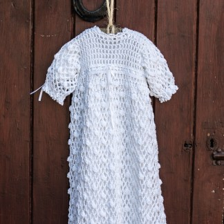 Legacy Irish Crochet Christening Gown