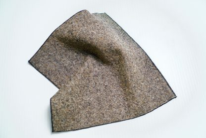 Donegal Tweed Pocket Square Oakwood
