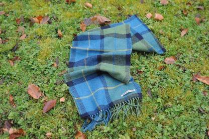 Irish Meadow Tweed Scarf