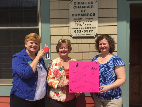 O'Fallon-Shiloh, IL Chamber of Commerce supports Larry!