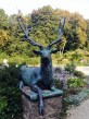 Wapitihirsch-Statue