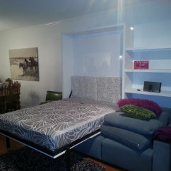 Wall Bed With Sofa Canada Abbyson Leather Reclining Gloss Finish Ultra Light Vancouver