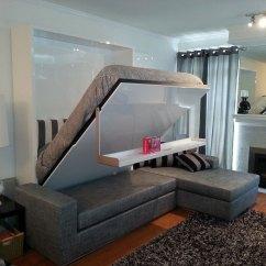 Diy Wall Bed Sofa Restuffing Cushions Uk Combination From Murphysofa Gas Mechanism