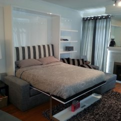Murphy Sofa Beds Thrifty And Chic Table Murphysofa Smart Furniture Wall Transformable