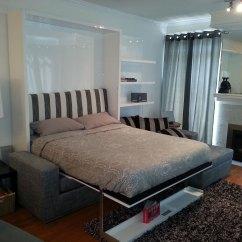 Diy Wall Bed Sofa Tri Fold Combination From Murphysofa Gas Mechanism