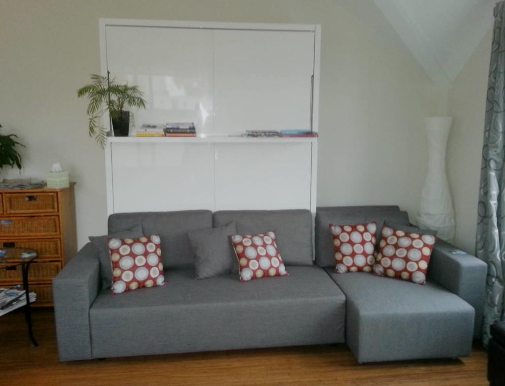 murphy sofa beds ikea kivik cover customer testimonials murphysofa wallbed installations