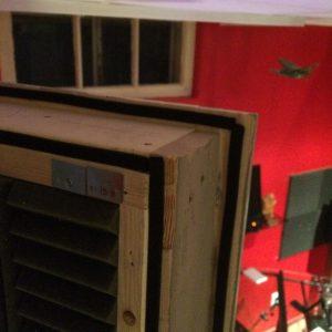 Vocal booth door