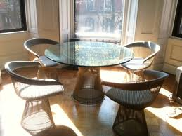 retro cafe table and chairs fishing chair exercises replica platner dining - 120cm   murray & wells