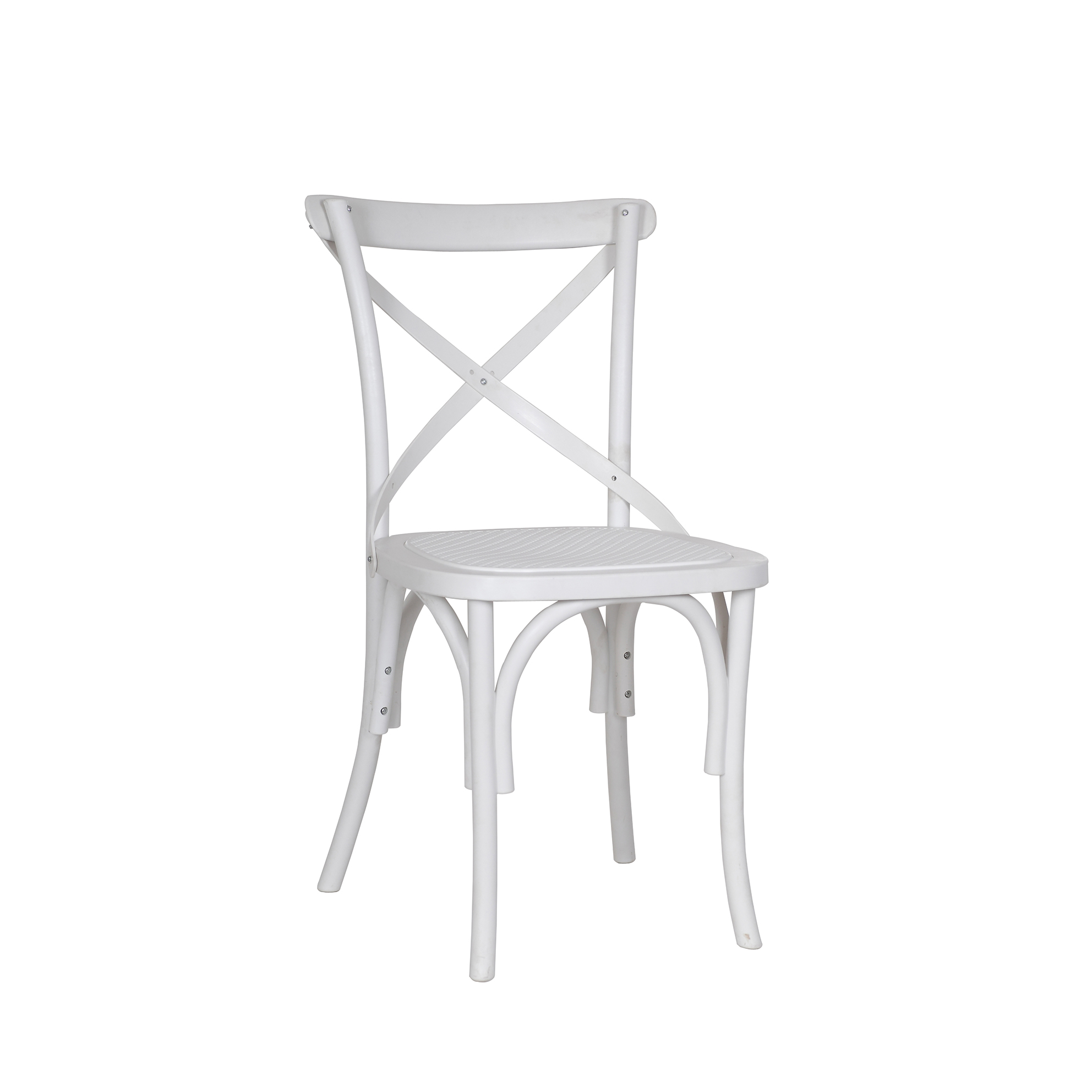 cross back dining chairs white zaisu floor chair replica bella polyprop murray and wells