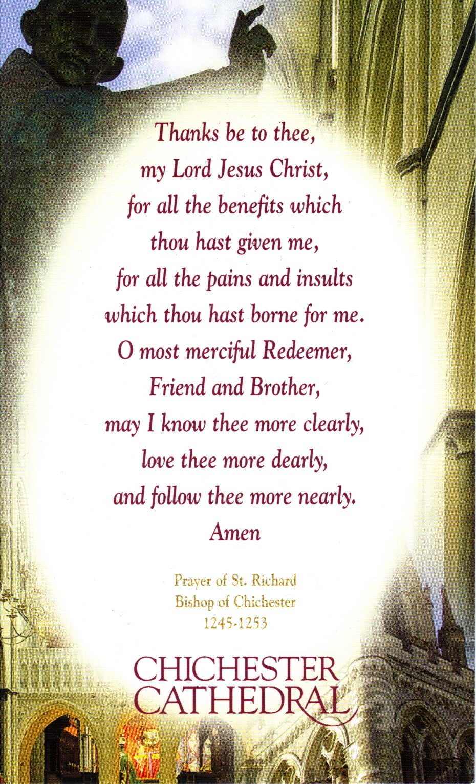 Godspell Prayer of St Richard