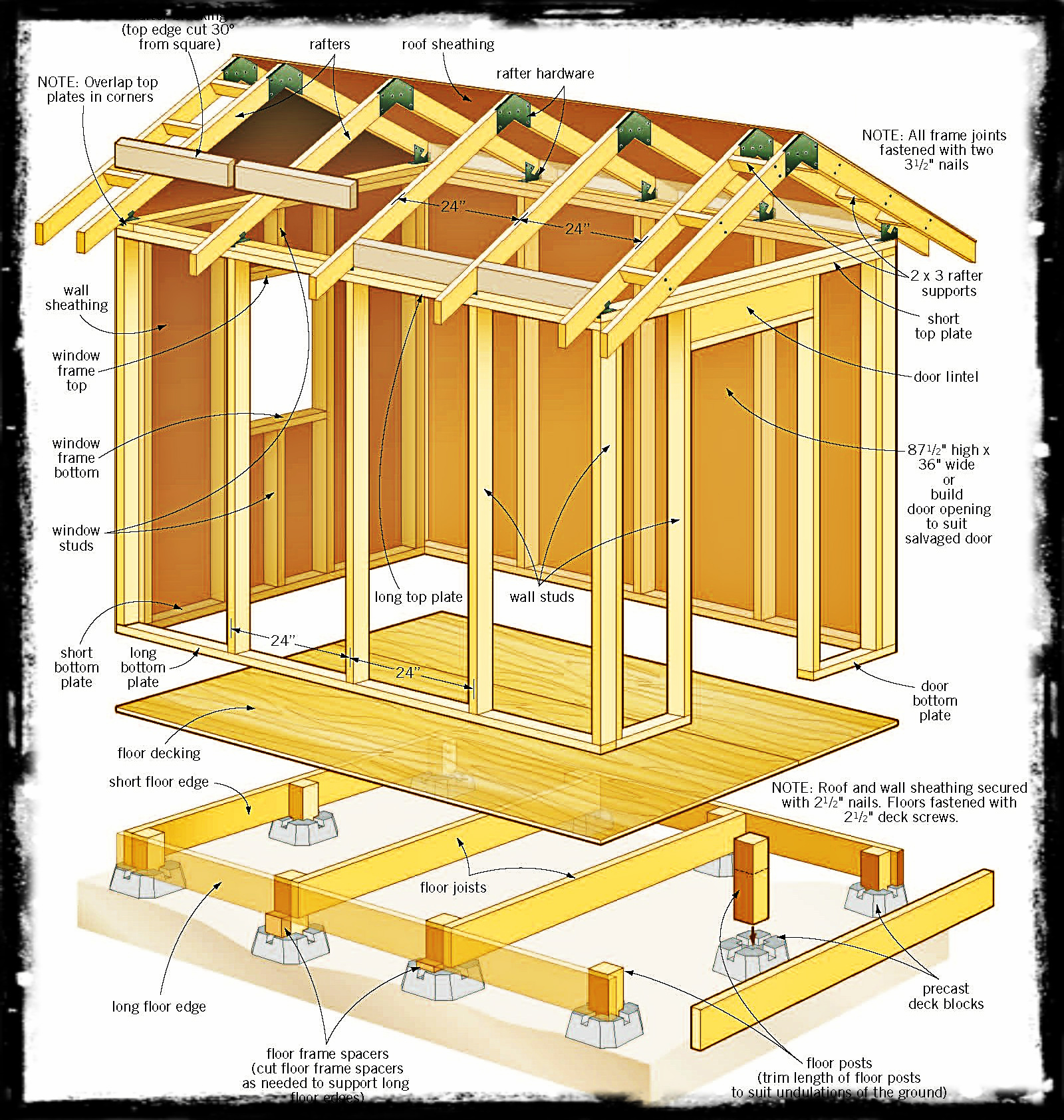small resolution of pdf 8 x 12 wood shed plans free diy free plans download how to build 16x20 wood shed 8x12 wood shed diagram