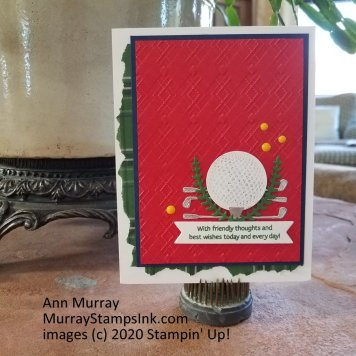 Clubhouse - Golf-Themed Cards (5)
