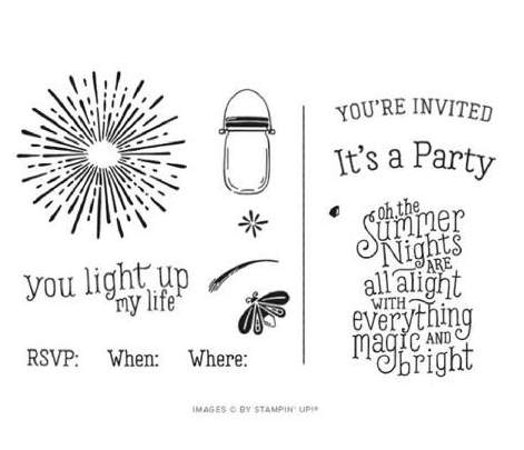 summer night stamps