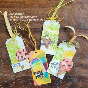 tags using Paper Pumpkin April 2021