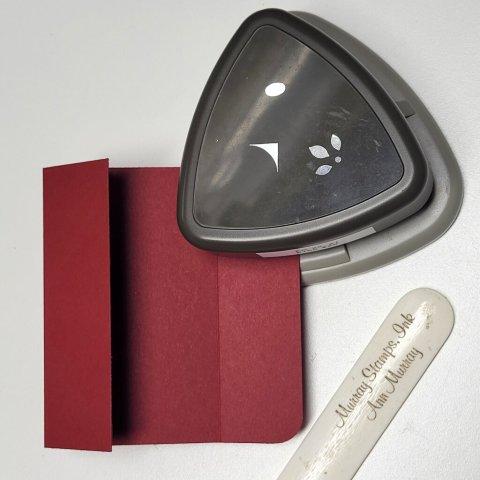 round corners on gift card holder