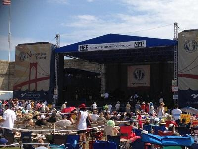 Newport Jazz Festival photo from Fort Adams Concert Arena