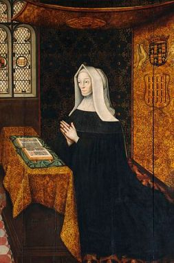 Margaret Beaufort at prayer