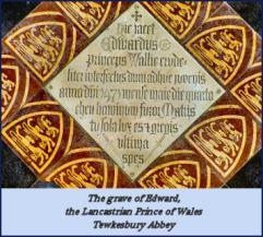 grave of edward of lancaster