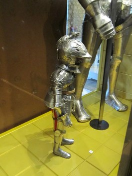 white tower - child's armour - very young
