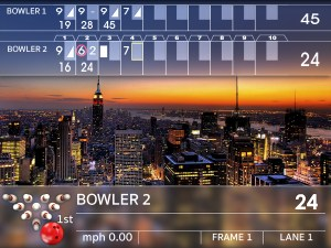 Bowling Alley Scoring Systems