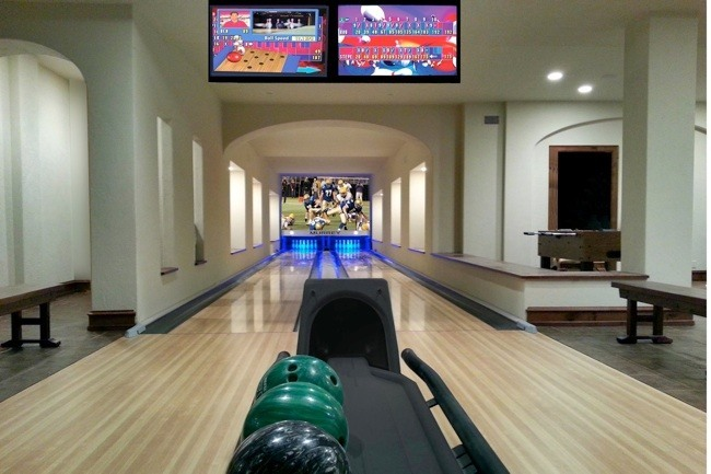 Home Bowling Alley in Waldren, Missouri