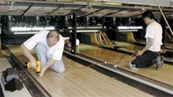 Bowling lane installations