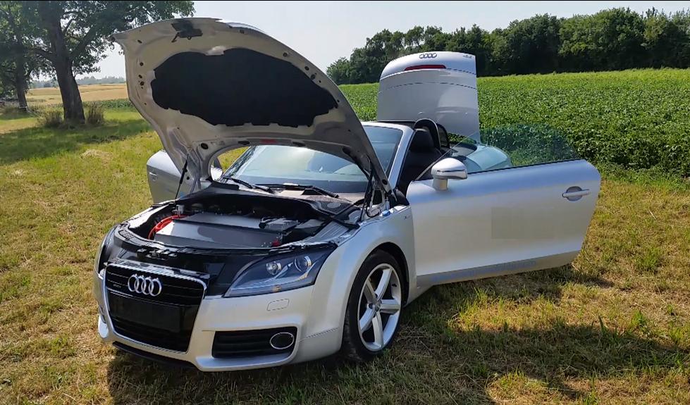 Audi-TT- Elektroauto Umbau - audi tt elektro - Murschel Electric Cars - Oldtimer Restauration - Interieur Design - Batterie Fertigung - Elektroauto Prototypen Bau - Engineering