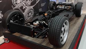 Elektroauto Prototypenbau - Rolling Chassis - eBasis Chassis - electric powertrain - Murschel Electric Cars