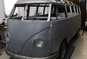 VW T1 1966 elektro umbau - VW T1 Samba 23 Fenster - VW T1 Bulli - Murschel Electric Cars - Restoration - Lackierung - Interieur - eClassics T1 Elektor Umbau Kit