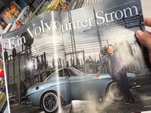 Sept 2015 Elektroauto Umbau Volvo P 1800 E von Murschel Electric Cars in der auto motor sport - Motor Klassik - Volvo unter Strom3