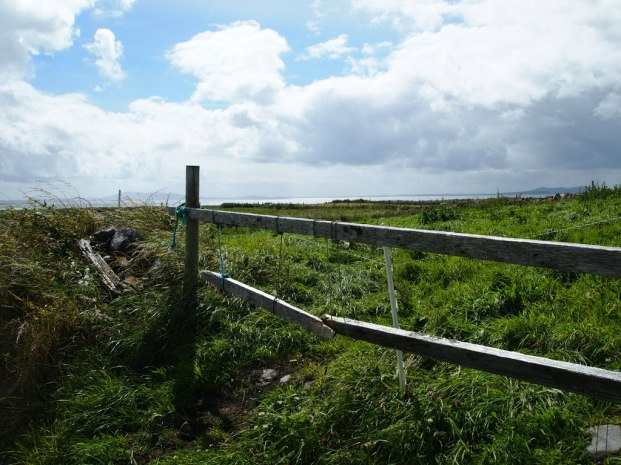 Fence near Louisburgh Co Mayo