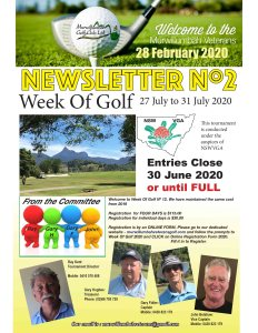 28 February Newsletter Nº 2 2020-1