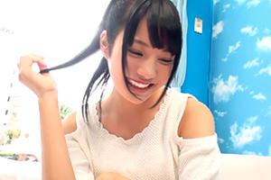 【マジックミラー号】肩出し可愛いね!19歳美少女が声ガマンゲームの画像です