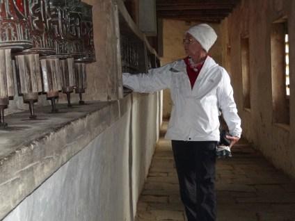 At Chiwang Monastery