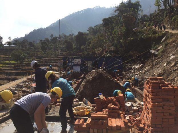 building schools Nepal