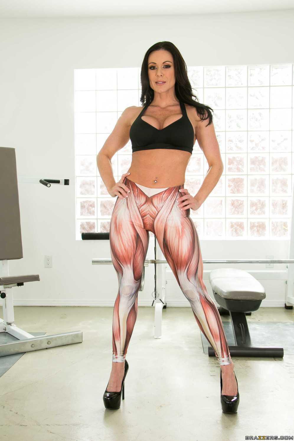 Kendra Lust gimnasio - Perfecta