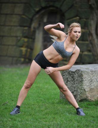 Melissa Reeves estiramientos