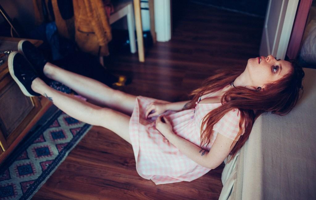 'Through a look' Lucilla Materazzi by Riccardo Della Nina