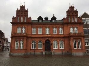 Das Rathaus in Heiligenhafen