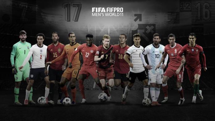 Messi, Ronaldo and Lewandowski named in FIFA FIFPro Men