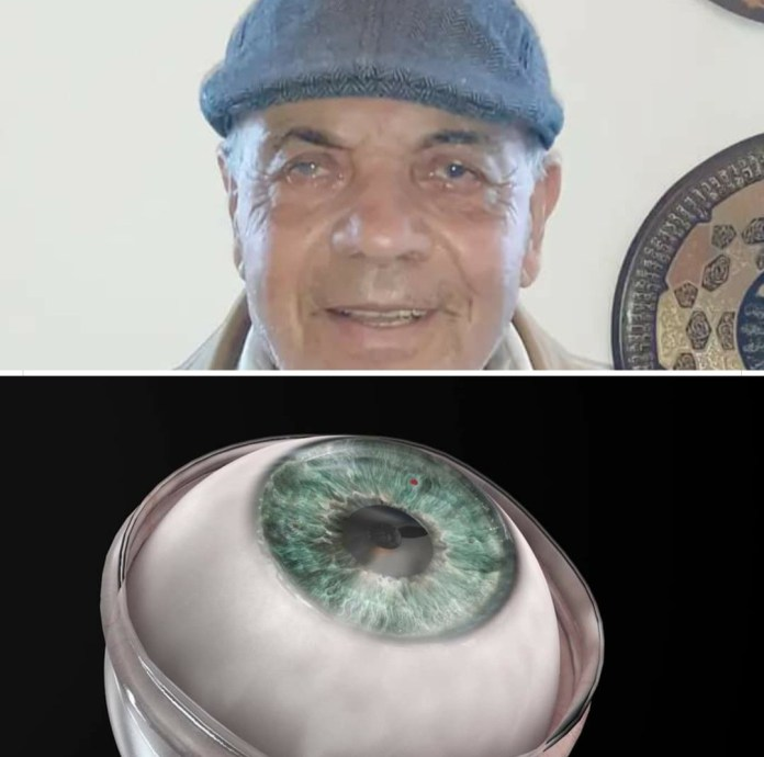 Man who had been blind for a decade regains vision after artificial cornea transplant
