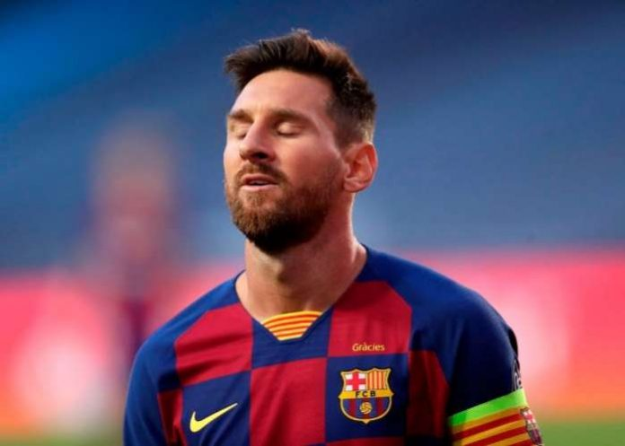 """Lionel Messi reportedly has Barcelona in """"suspense"""" amid talk over his future."""